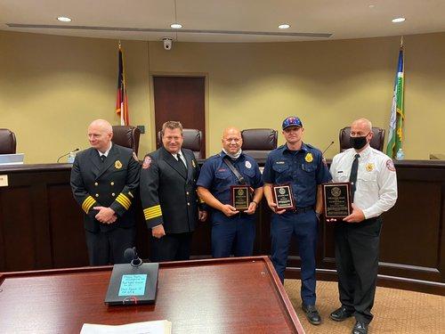 Fire Station 2 lifesaving award (3)