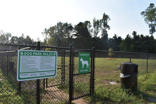 dog park signs